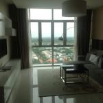 Cho thuê căn hộ The Vista có Bancol view hồ bơi