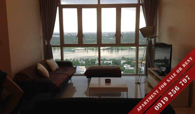 Bán căn hộ The Vista 2 phòng ngủ view sông