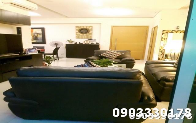 Cho thuê căn hộ The Vista View sông 4 phòng ngủ