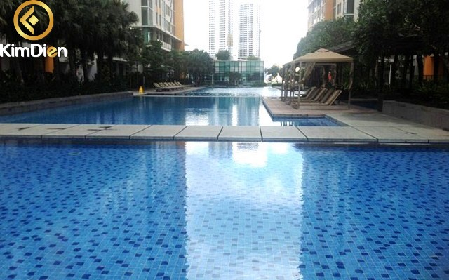 Bán căn hộ The Vista 3PN view hồ bơi