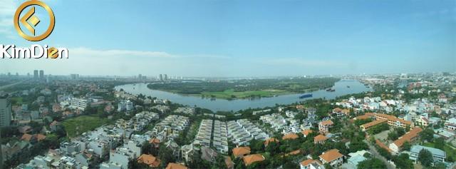 Cho thuê căn hộ The Vista An Phú 3PN view sông