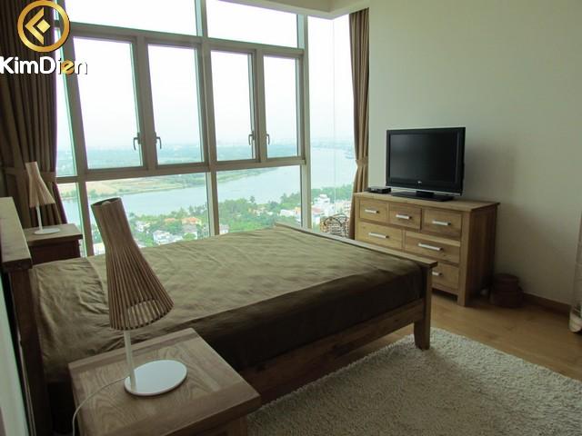 Cho thuê căn hộ The Vista An Phú 3PN view sông 2000$